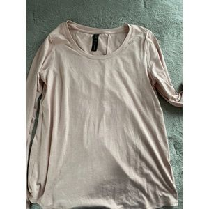 NWT Long Sleeve with open back